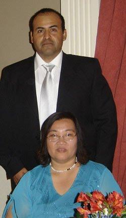 Sureephorn y Miguel