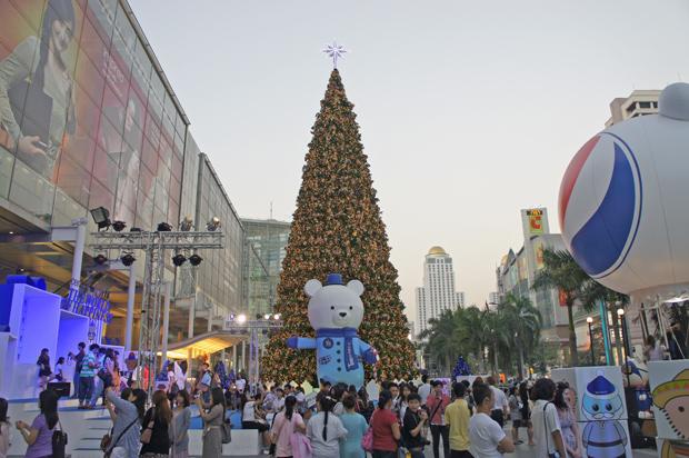 Arbol de Navidad en Bangkok