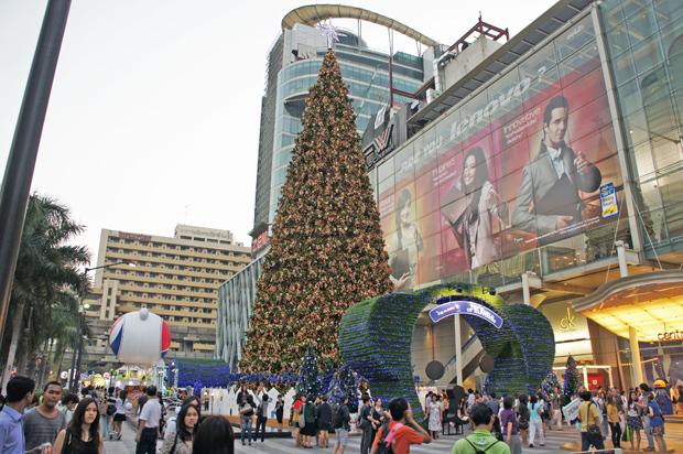 Arbol de navidad en Bangkok Tailandia