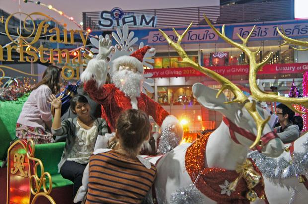 Papa Noel en Bangkok